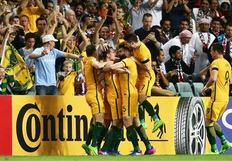 Australia 2-0 United Arab Emirates: Socceroos back on track