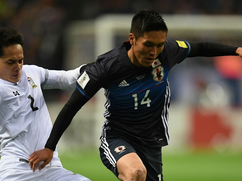 Japan 4 Thailand 0: Kubo inspires comfortable win for Blue Samurai