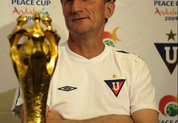Bauza habló de los problemas de Deportivo Quito