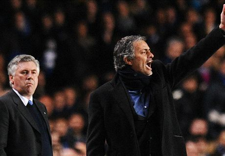 Carlo Ancelotti, al acecho de Mourinho