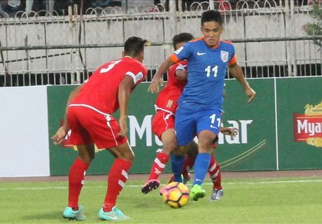 India snatch late win in Myanmar