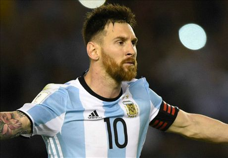 Messi slapped with four-game ban