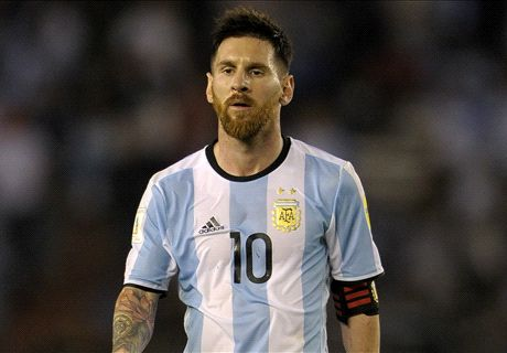 Messi failed by incompetent federation
