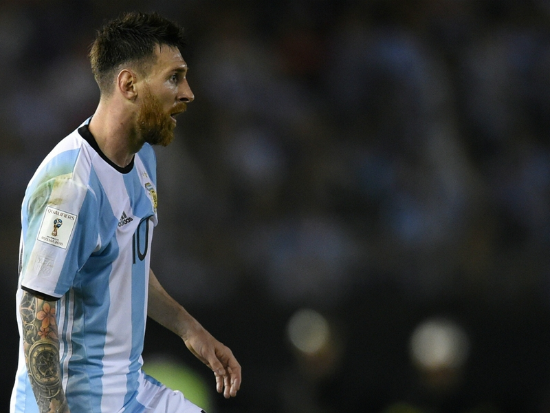 OFFICIAL: Argentina to appeal Messi's four-match FIFA ban