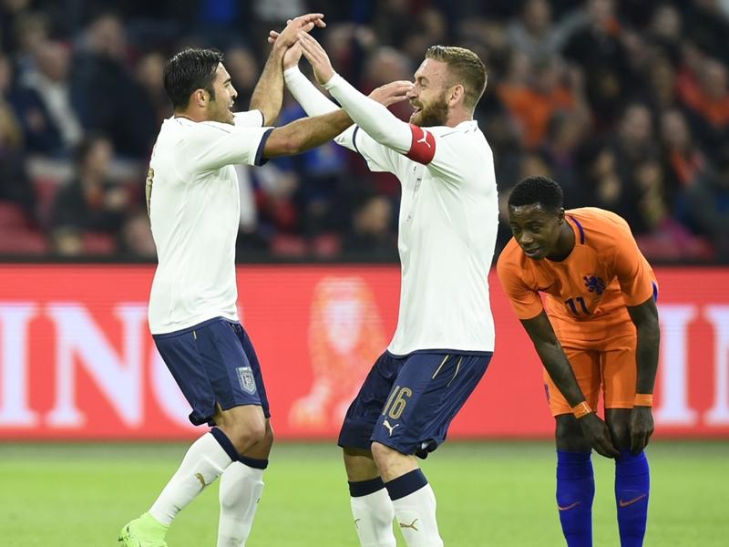 Pays-Bas-Italie (1-2), victoire de prestige pour la Squadra Azzurra