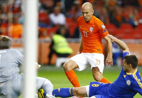 Ratings: Netherlands 3-1 Kazakhstan