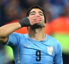 Suarez scores twice in Uruguay friendly