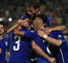 Italia ganó con goles de Chiellini