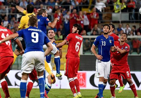 Player Ratings: Italy 2-1 Azerbaijan