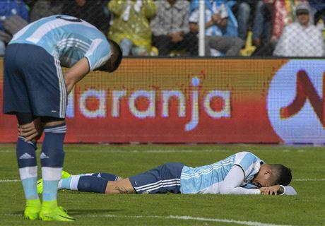 Tanpa Messi, Argentina Merana