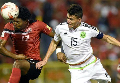 EN VIVO: Trinidad y Tobago 0-1 México