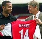Henry, Petit, Adebayor et les joueurs ayant joué à Monaco et Arsenal