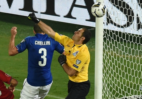 Chiellini: It went awry for Italy up front