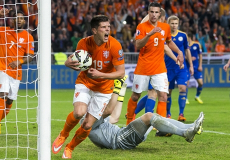 Hiddink bespreekt incident Van Persie