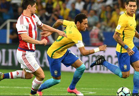 LIVE: Brazil vs Paraguay