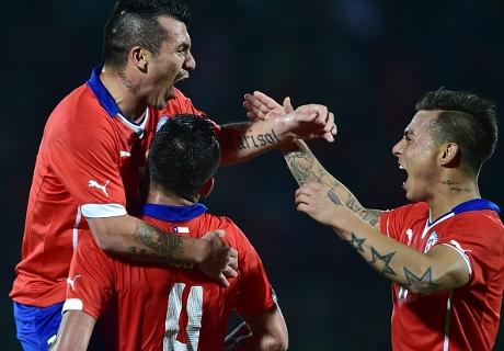 Amistoso: Chile 3-0 Perú