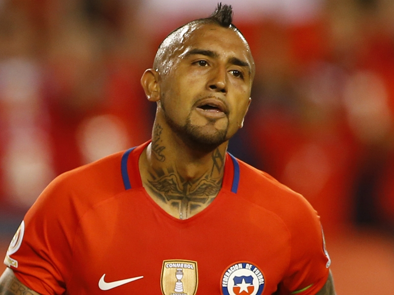 Vidal: Chile could have won 7-1 if not for my missed chances