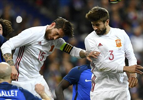 'White fits Pique well!' - Ramos hits back