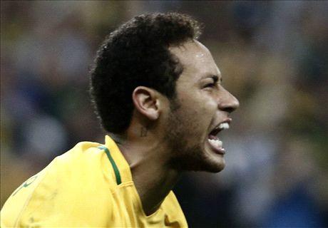 Neymar, Cavani et les meilleurs buteurs de la zone Amsud