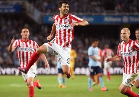 VÍDEO: Primer gol de Villa en Australia