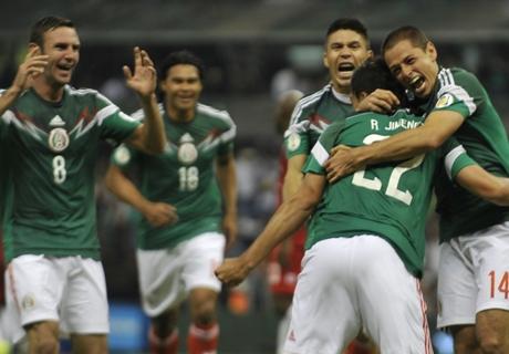 Raúl Jiménez recordó su gol de chilena