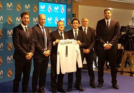 Florentino deja un 'recadito' a Piqué