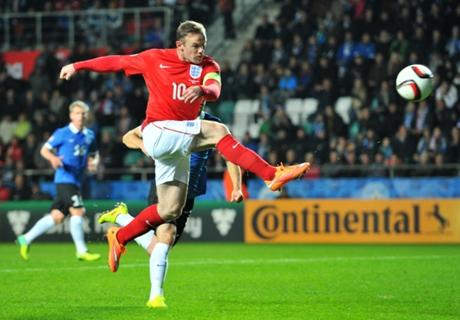 Estonia 0-1 England: Rooney winner