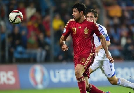 Résumé de match, Luxembourg-Espagne (0-4)