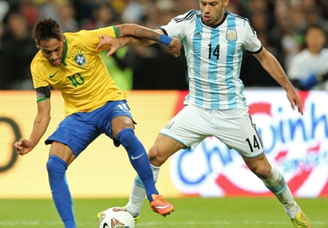 Brazil and Argentina kept apart in Copa