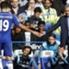 Diego Costa (li.) ist der treffsicherste Angreifer im Team von Jose Mourinho (re.)