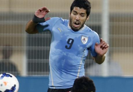 Uruguay Menang, Luis Suarez Dua Gol