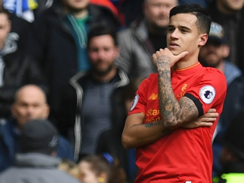 Coutinho ties with Juninho as Premier League's most prolific Brazilian
