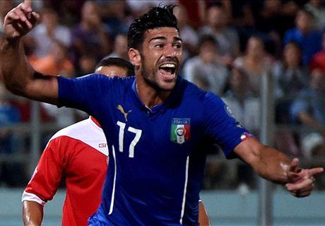 Eliminatorias: Malta 0-1 Italia