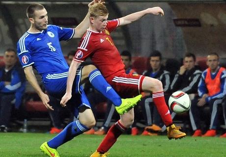 Magerer Punkt für Bosnien und Belgien