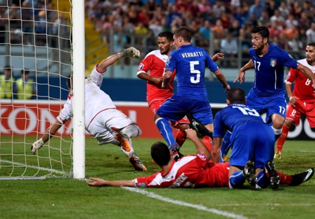 Match Report: Malta 0-1 Italy