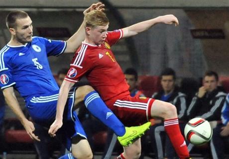 Bosnia 1-1 Belgium: Nainggolan rescues