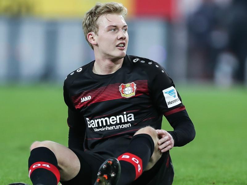 Brandt exclut un départ du Bayer Leverkusen