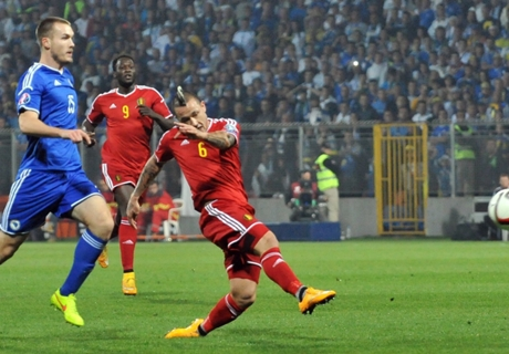 Match Report: Bosnia 1-1 Belgium