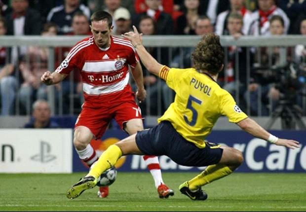Barcelona Defender Carles Puyol Praises Bayern Star Franck Ribery