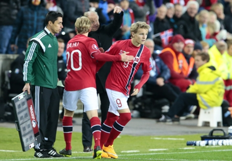 Odegaard thrilled at breaking record