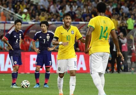 Neymar schießt Japan ab