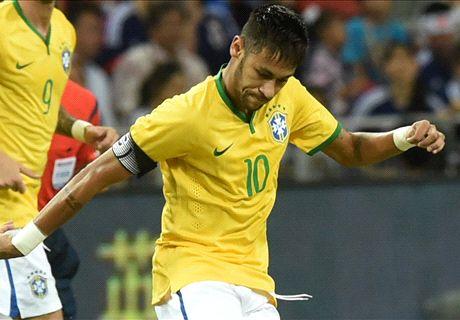 Neymar: Four-goal haul is unbelievable