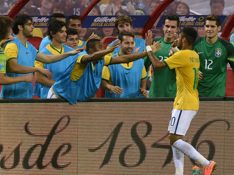 Throwback Thursday: When Neymar hit FOUR against Japan