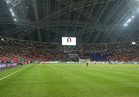 Controversy over condition of National Stadium pitch