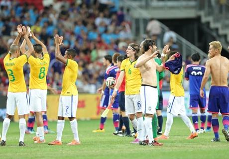 Five talking points from Brazil vs Japan