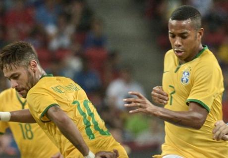 Robinho: Neymar is spectacular