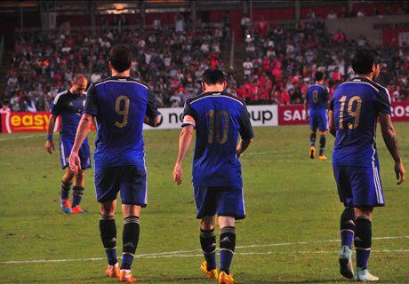 美斯兩球!港隊0-7不敵阿根廷!