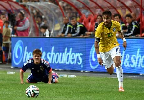 Japón fue un juguete para Neymar