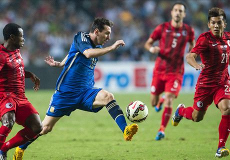 Messi: Argentina developing well