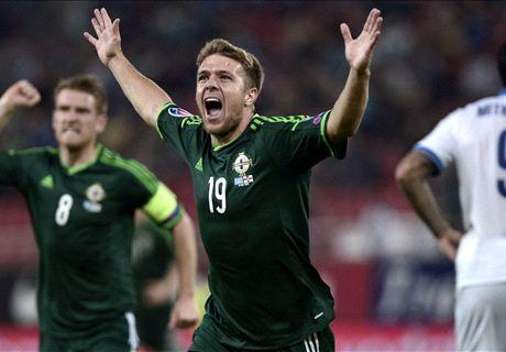 Greece 0-2 N.Ireland: Dream start